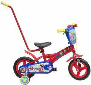 velo enfant disney mickey rouge